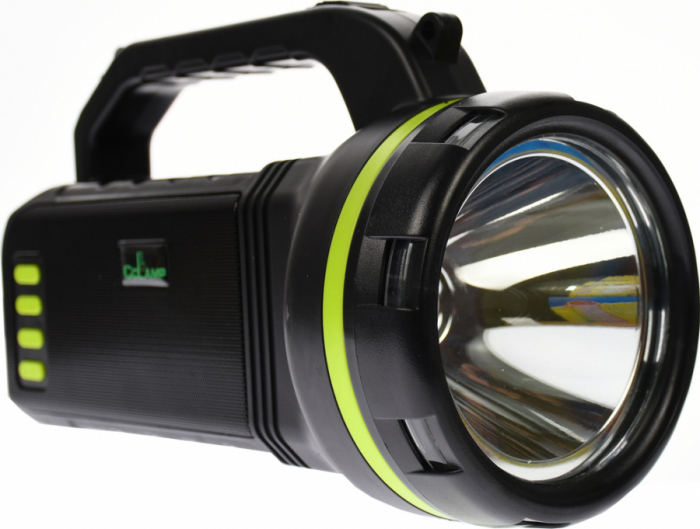 Lanterna cu boxa wireless cl-707 reincarcabila, cu Radio, USB, slot TF card, Bec disco si Bec camping incluse [0]