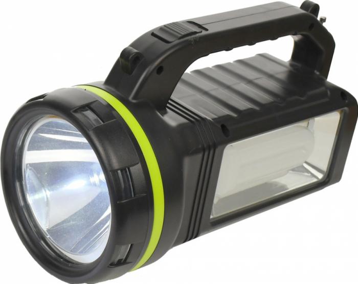 Lanterna cu boxa wireless cl-707 reincarcabila, cu Radio, USB, slot TF card, Bec disco si Bec camping incluse [2]