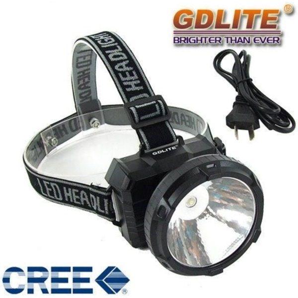 Lanterna frontala cu acumulator si LED de 1W GDLITE GD-211 0