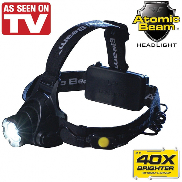Lanterna Frontala Tactica Led Cree Atomic Beam 40x 0