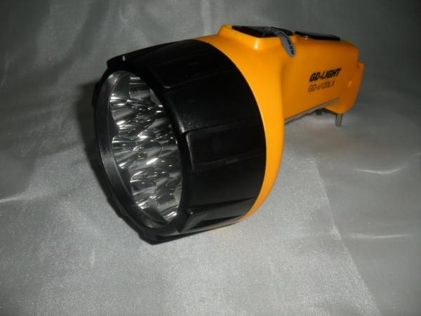 Lanterna reincarcabila cu 7 + 8 LED-uri LY-826-B 1