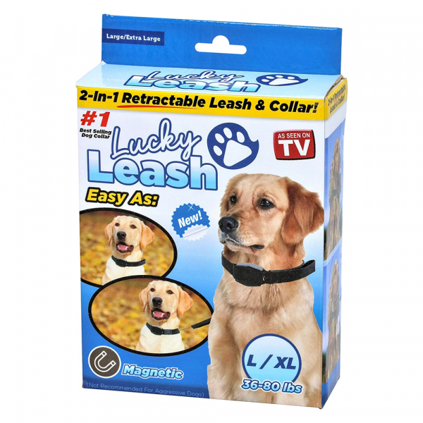 Lesa caini retractabila Lucky Leash L/XL 0