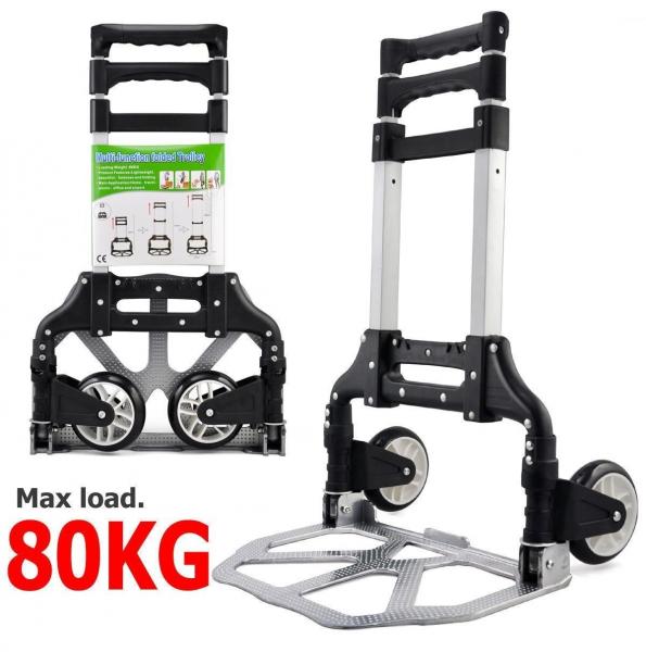 Liză transport multifunctională cu capacitate de 80 Kg Trolley 0