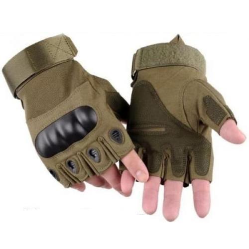 Manusi OAKLEY Tactice Half Finger maro 3