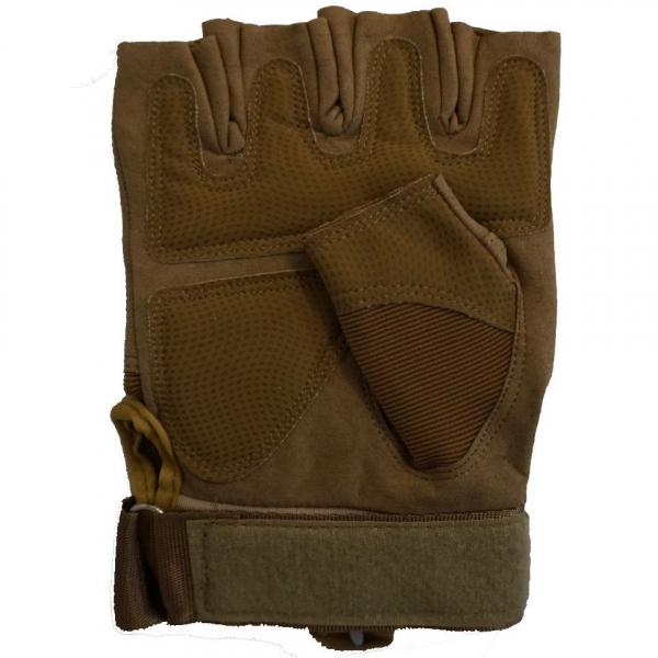 Manusi OAKLEY Tactice Half Finger maro 2