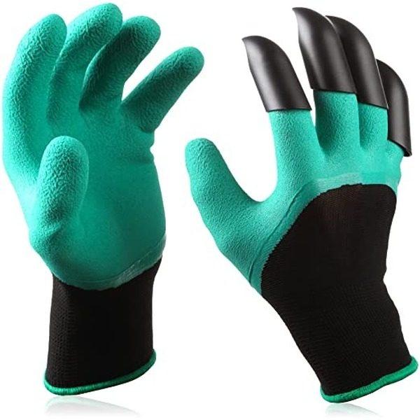 Manusi pentru gradinarit cu 4 gheare Garden Genie Gloves [0]