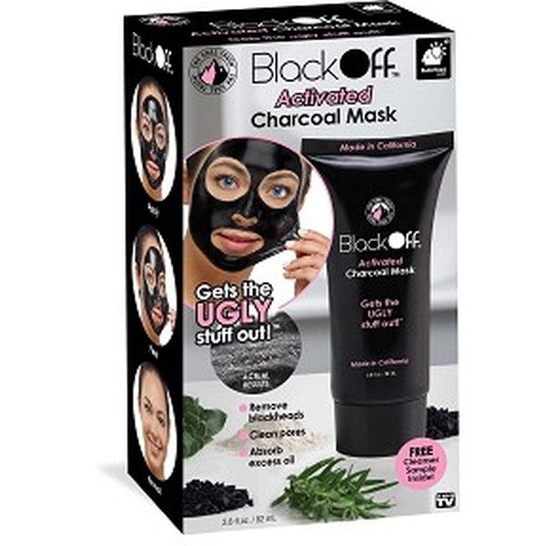 Masca neagra puncte negre Black Mask Black Off 82 ml carbune de bambus 0
