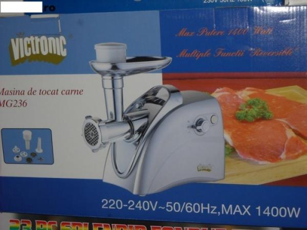 Masina de tocat carne Victronic MG236 1400W 0