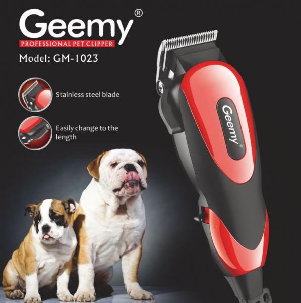 Masina de tuns pentru animale cu accesori incluse, Gemey GM-1023 1