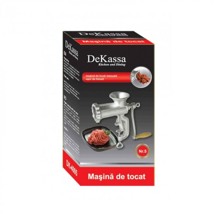 Masina de tocat manuala pentru carne No.5 DeKassa 4005 [1]