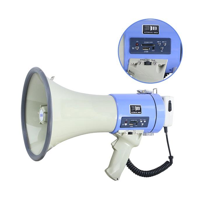 Megafon portavoce de mare putere 50 Watt,cu MP3 Player cititor USB,ER-66USB 3