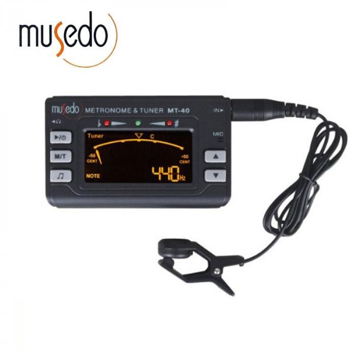 Metronom si Tuner acordor multifunctionale pentru chitara, Musedo MT40 [3]