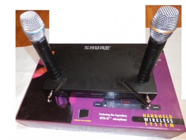 Microfoane profesionale wireless UHF cu receiver SHURE BETA-87 0