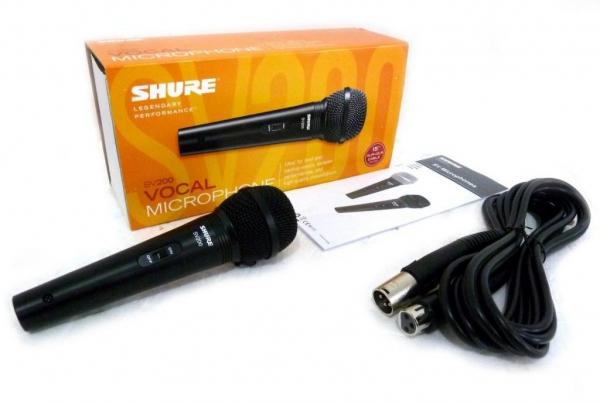 Microfon cardioid cu fir dynamic Shure SV200 0