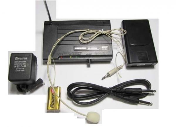 Microfon casca fara fir VHF Shure SH-200 0