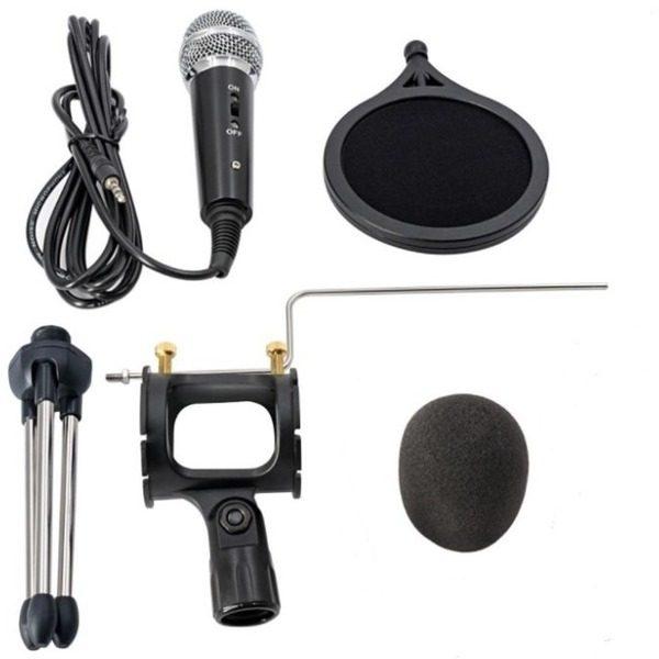 Microfon Profesional de inregistrare vocala si Karaoke pentru Studio, WG-500II [3]