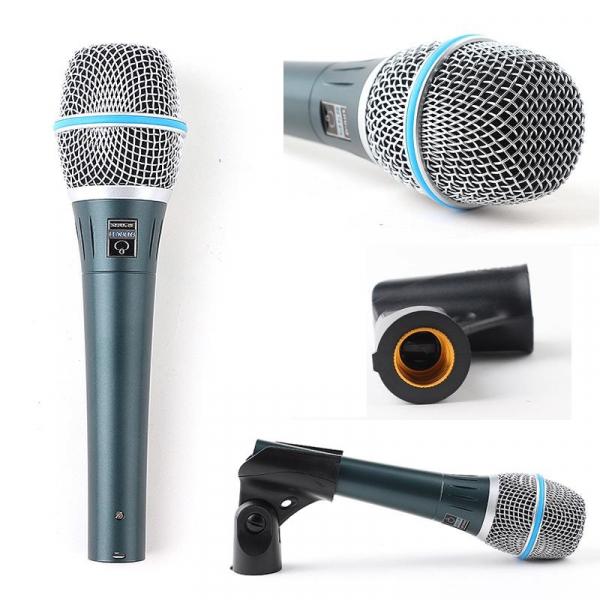 Microfon profesional cu fir supercardioid Shure Beta 87A 1