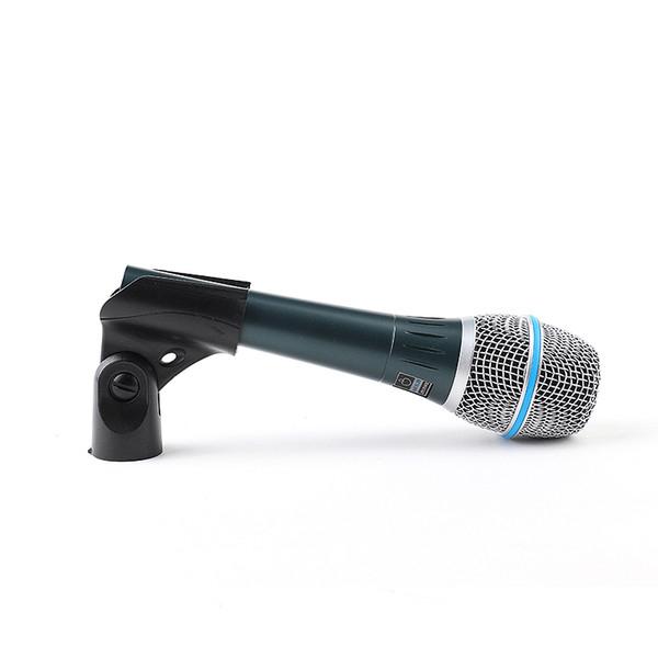 Microfon profesional cu fir supercardioid Shure Beta 87A 0