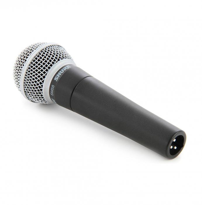 Microfon cu fir vocal Unidirectional Dynamic Shure SM58 [2]