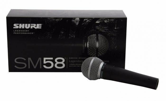 Microfon cu fir vocal Unidirectional Dynamic Shure SM58 [5]