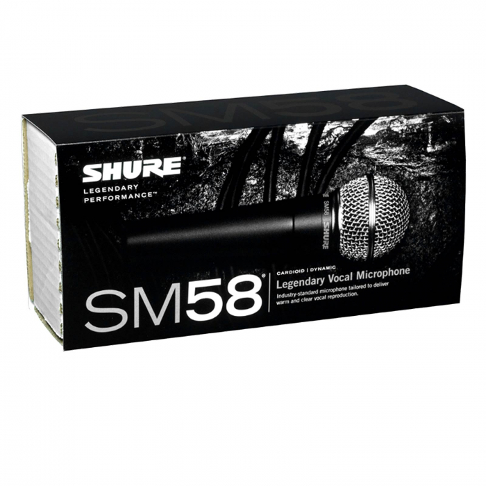Microfon cu fir vocal Unidirectional Dynamic Shure SM58 3