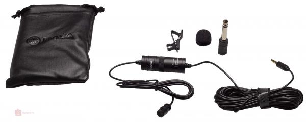 Microfon Omnidirectional Lavaliera Boya BY-M1 pentru camere foto si Smartphone 0