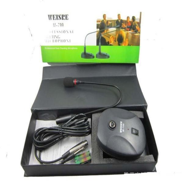 Microfon profesional pentru conferinte cu stativ WEISRE M-799 [0]