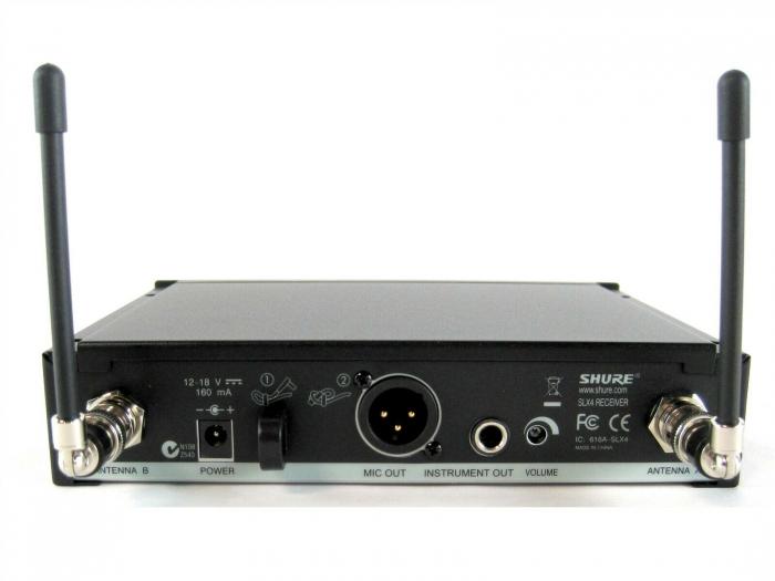 Microfon profesional wireless Shure SLX24/SM58 [4]