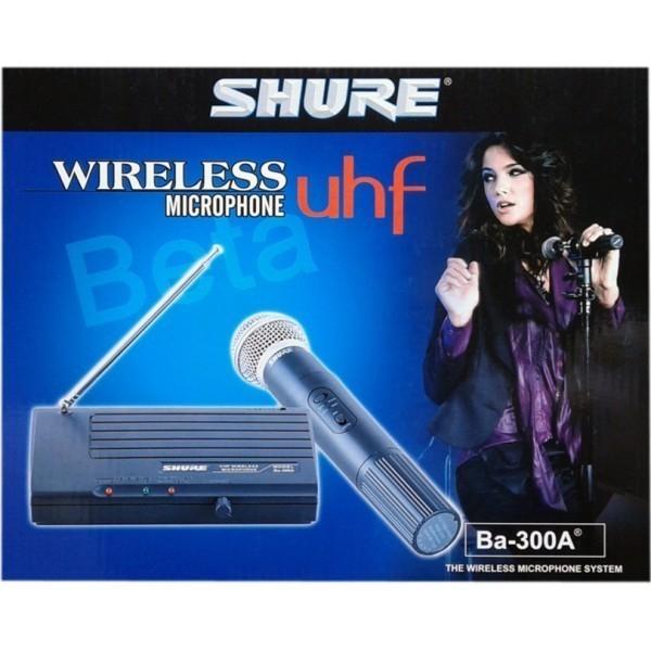Microfon profesional wireless UHF Shure BA-300A 0