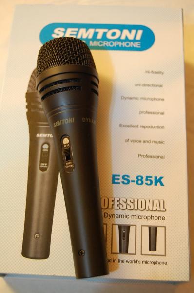 Microfon unidirectional profesional dinamic Semtoni ES-85K 0