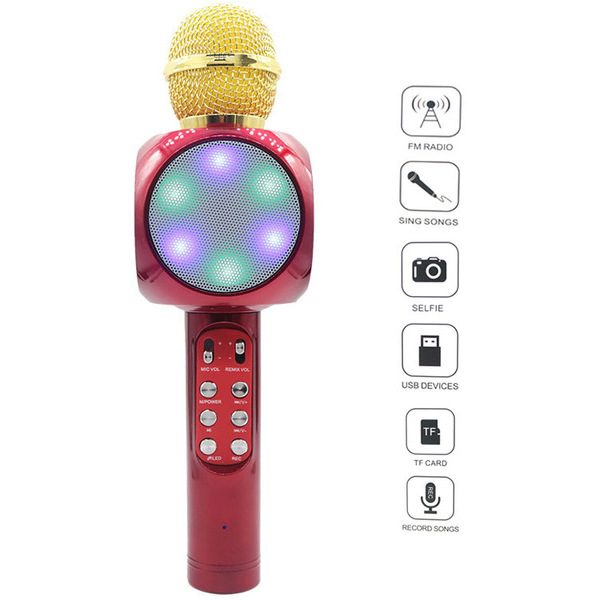 Microfon wireless pentru Karaoke WS-1816 1