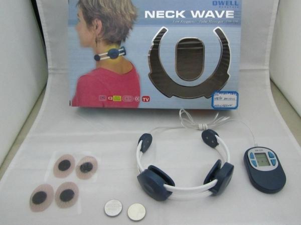 Aparat terapeutic pentru electrostimulare cervicala cu electrozi, Neck Wave OW-120 [0]