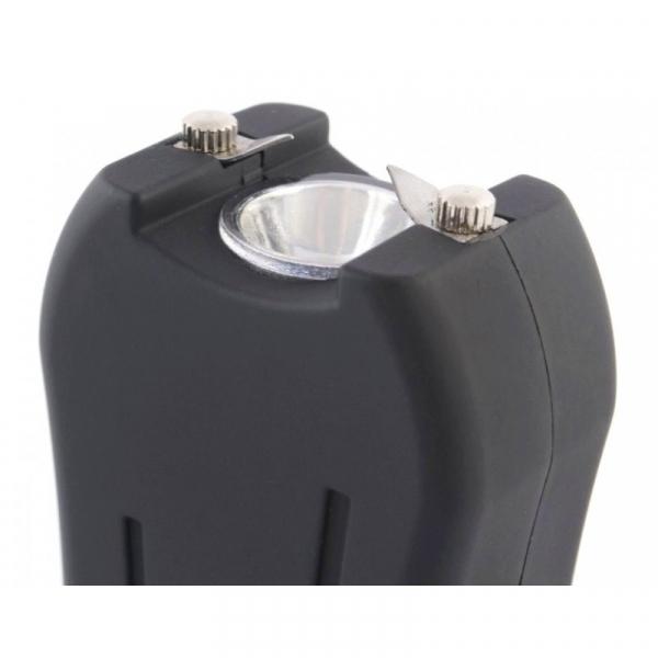 Mini electrosoc cu lanterna pentru autoaparare TW-398 4
