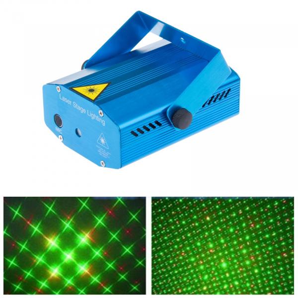 Mini laser efecte de lumini stage lighting 1