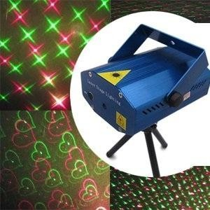 Mini Laser rosu si verde Stage Lighting YX-08 0