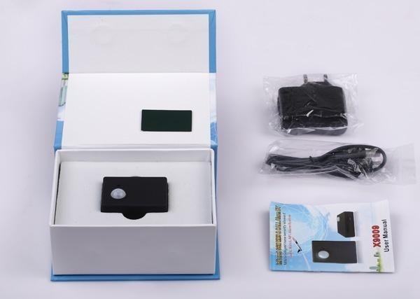 Mini PIR cu senzor infrarosu pentru detectare miscare si camera video cu avertizare GSM MMS X9009 0