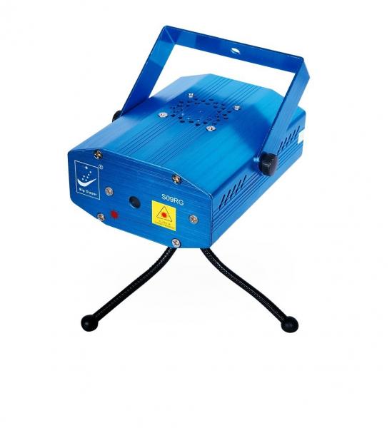 Mini Proiector Laser Stage Lighting Multipunct S08RG 0