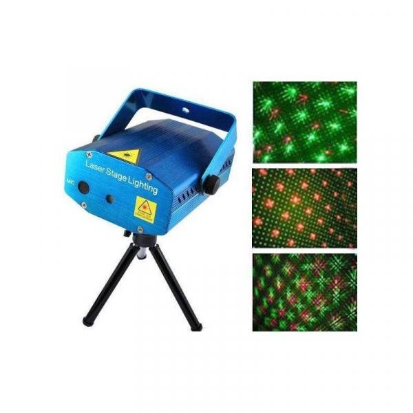 Mini proiector laser verde si rosu holografic YX-40 0