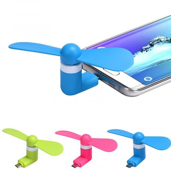 Mini ventilator portabil pentru telefon mobil Samsung 1