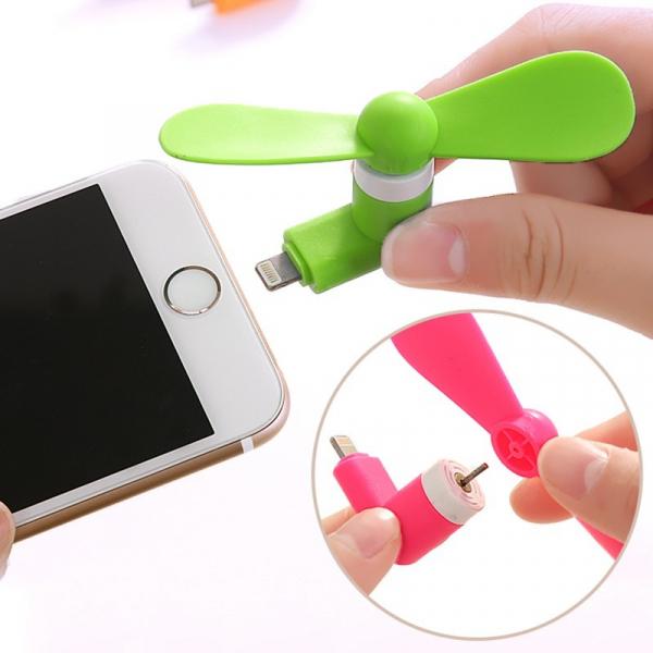 Mini ventilator portabil telefon iPhone 5/5S/6/6+/SE/ iPad 1