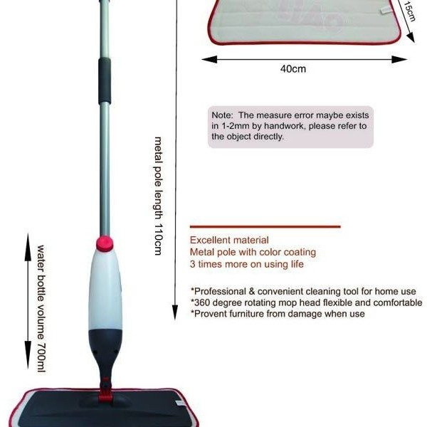 Mop cu microfibra spray Microfiber Spray Mop 0