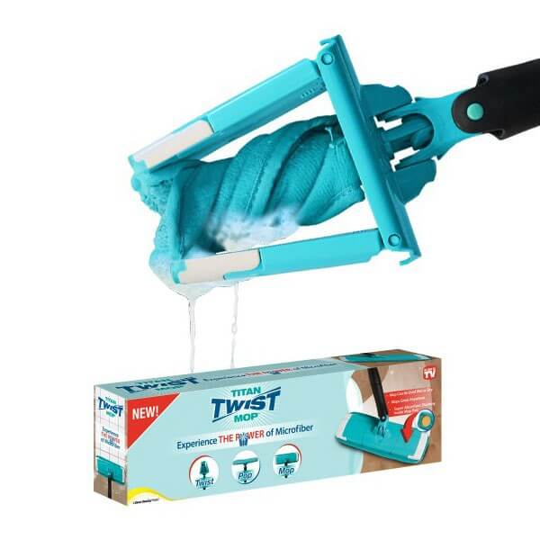 Mop manual cu microfibre super clean Titan Twist Mop 2