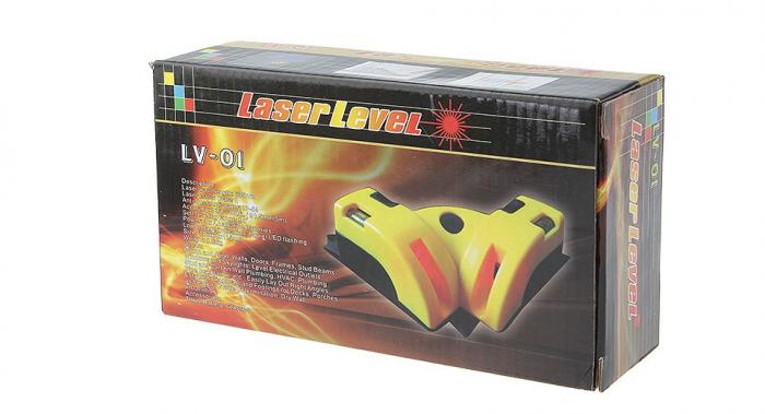 Nivela cu laser pentru colturi si unghi 90 de grade, LV-01 [8]
