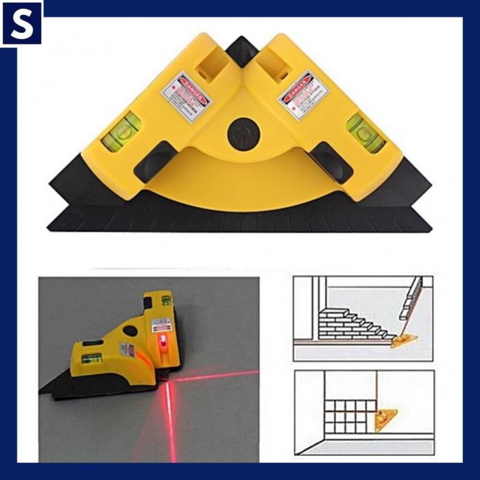 Nivela cu laser pentru colturi si unghi 90 de grade, LV-01 [2]