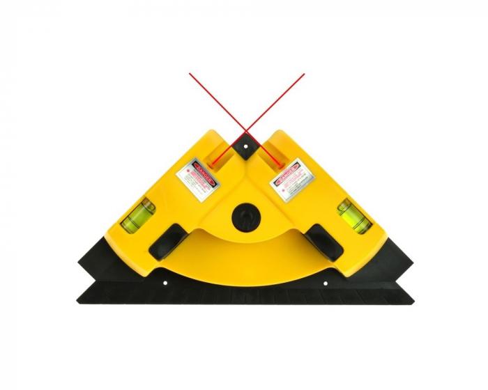 Nivela cu laser pentru colturi si unghi 90 de grade, LV-01 [1]