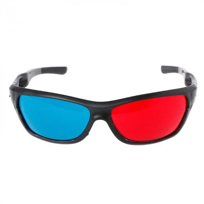 Ochelari 3D anaglifici red-cyan pentru imagini 3D [1]