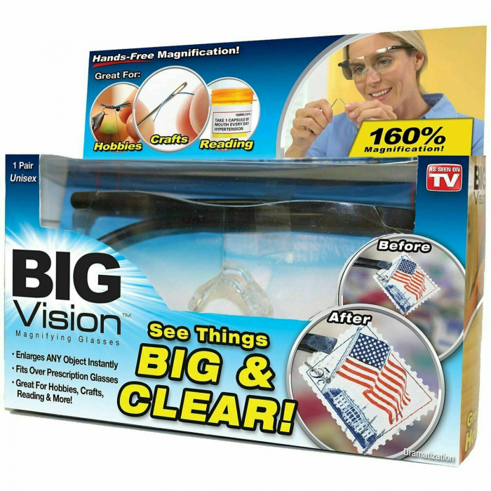 Ochelari speciali de marit cu lupa pana la 60%,Big Vision 1