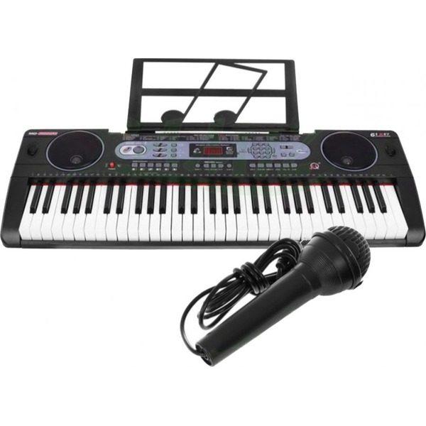 Orga electronica 61 de clape MQ-602UFB cu Bluetooth si USB /MP3 0