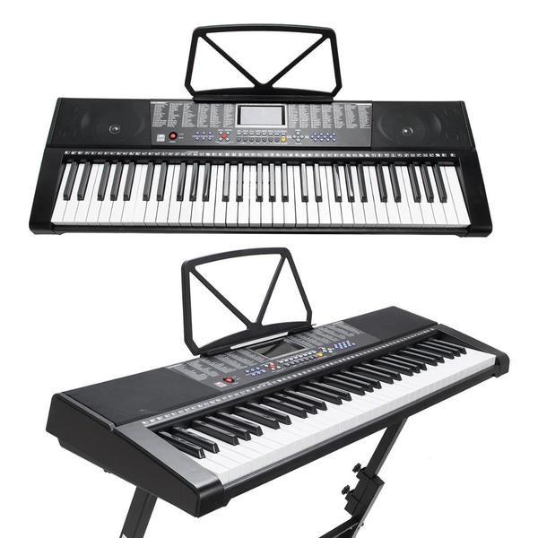 Orga electronica cu 61 de clape luminate Led MK-2108 si citire MP3/USB 0