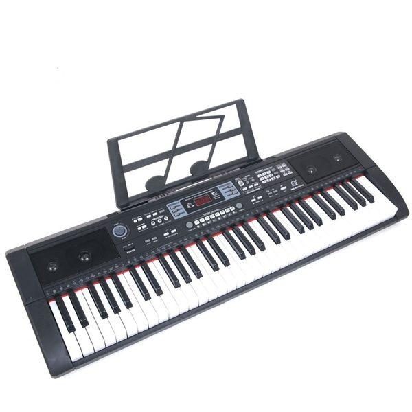 Orga electronica cu 61 de clape USB MP3 BT si Radio FM MQ-607UFB 0